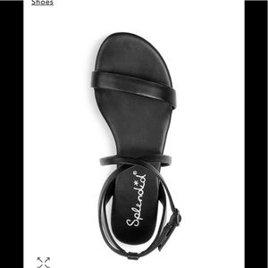 Splendid Black Susannah Sandals-Brand New